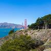 Golden Gate Bridge. Lincoln Blvd - San Francisco, CA, USA