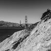 Golden Gate Bridge. Battery to Bluffs Trail - San Francisco, CA, USA