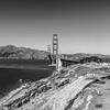 Golden Gate Bridge. Battery Godfrey - San Francisco, CA, USA