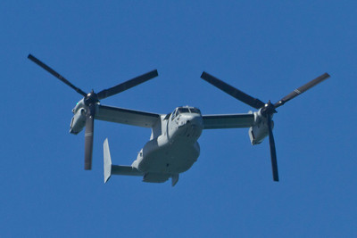 Bell Boeing V-22 Osprey. San Francisco Blue Angels 2012 - San Francisco, CA, USA