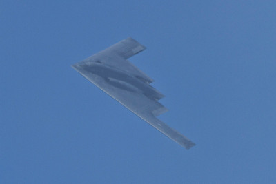 B2 Stealth Bomber. San Francisco Blue Angels 2012 - San Francisco, CA, USA