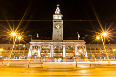 San Francisco Ferry Building. San Francisco, CA, USA