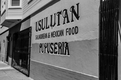 Usulutan. Mission District. San Francisco, CA, USA