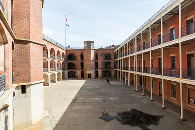 Fort Point National Historic Site - San Francisco, CA, USA