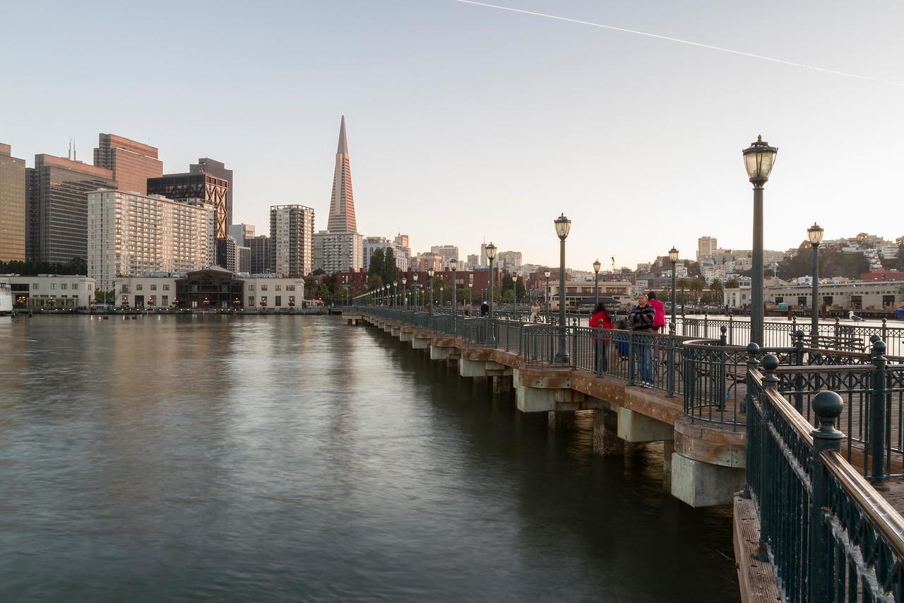 Transamerica Pyramid. Pier 7 - San Francisco, CA, USA