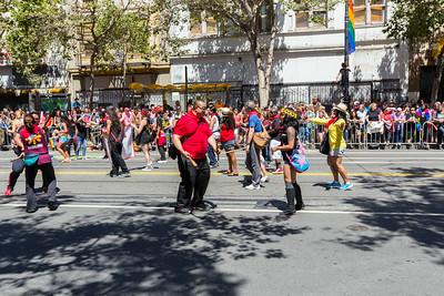 San Francisco Pride Parade/Celebration 2014 - San Francisco, CA, USA