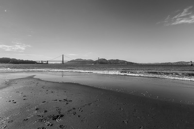 Golden Gate Bridge. Crissy Field - San Francisco, CA