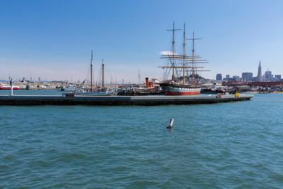 Hyde Street Pier. Aquatic Park Pier - San Francisco, CA