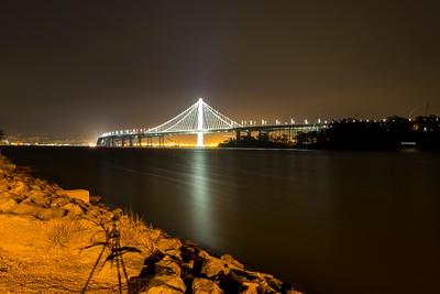 Bay Bridge. Treasure Island, CA