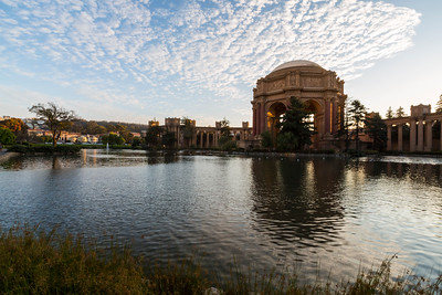 Sunset. Palace of Fine Arts - San Francisco, CA