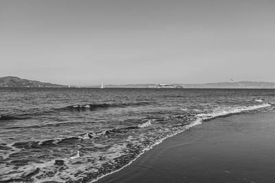 Alcatraz Island. Crissy Field - San Francisco, CA