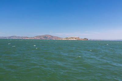Alcatraz Island. Aquatic Park Pier - San Francisco, CA