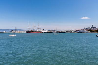 Aquatic Park Pier - San Francisco, CA