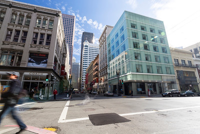 Post Street/Grant Avenue - San Francisco, CA, USA