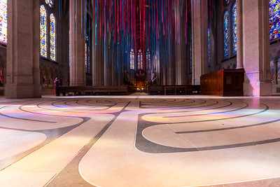 Grace Cathedral. San Francisco, CA, USA