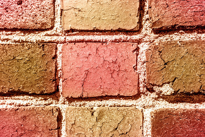 Special Color Process. Bricks. San Francisco General Hospital - San Francisco, CA, USA