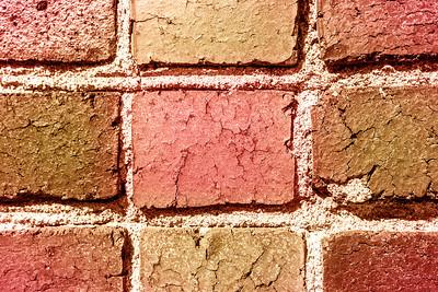 Special Color Process. Bricks. San Francisco General Hospital - San Francisco, CA, USA