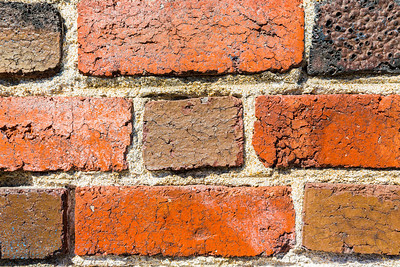Bricks. San Francisco General Hospital - San Francisco, CA, USA