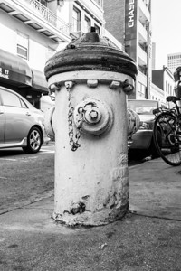 Fire Hydrant. Chinatown - San Francisco, CA, USA