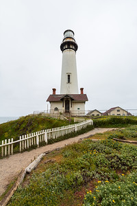 Pigeon Point Lighthouse. Pescadero, CA, USA