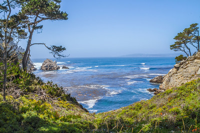 HDR Composition. Point Lobos State Reserve - Big Sur, CA, USA