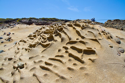 Rock Formation. Point Lobos State Reserve - Big Sur, CA, USA