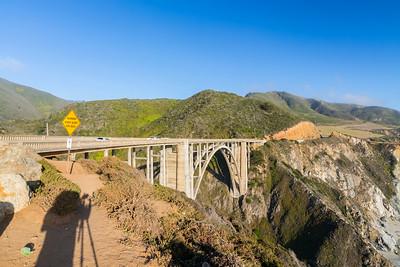 Sunset. Bixby Creek Bridge - Monterey, CA, USA