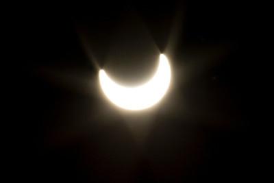 Solar Eclipse 5-20-2012. Shadow Cliff Regional Park - Pleasanton, CA, USA