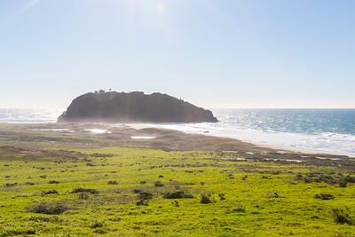 Point Sur State Historic Park. SR-1 - Monterey, CA, USA
