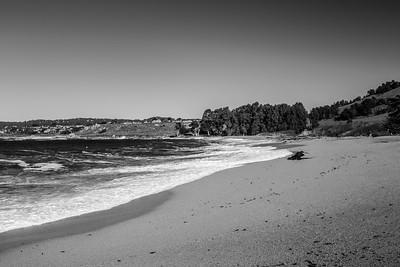 Carmel River State Beach. SR-1 - Carmel, CA, USA