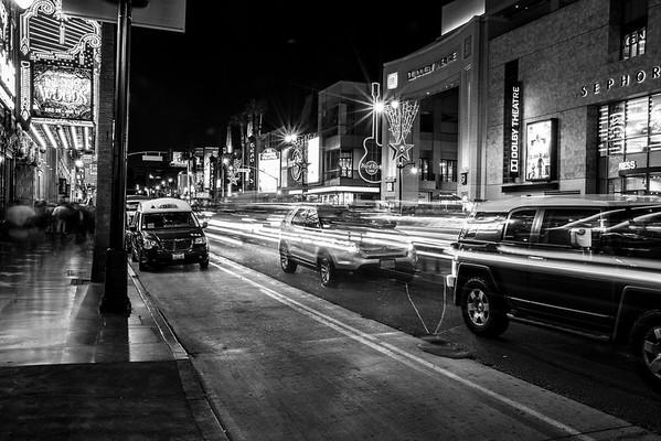 Hollywood Walk of Fame. Los Angeles, CA, USA