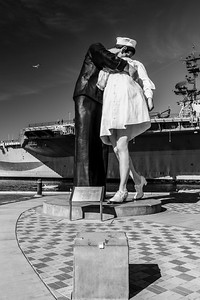 Unconditional Surrender. Tuna Harbor Park - San Diego, CA, USA