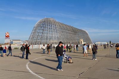 Hangar One. NASA Moffett Field - Mountain View, CA, USA