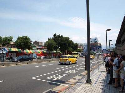 Outside a Station. Taipei MRT. Taipei, Taiwan (台北,台湾)