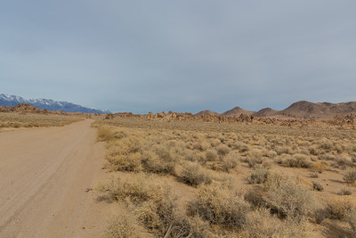 Eastern Sierras & Alabama Hills. Movie Road. Alabama Hills. Lone Pine, CA, USA