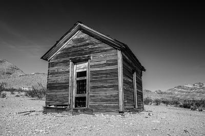 Rhyolite Ghost Town. Rhyolite, NV
