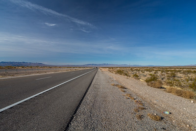 SR-160. Clark County, NV  Driving to Death Valley National Park from Las Vegas, NV.