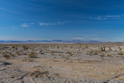 Intersection of SR-160 & US-95. Nye County, NV  Driving to Death Valley National Park from Las Vegas, NV.
