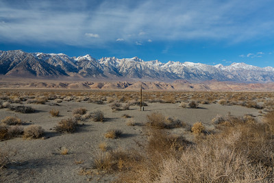 Eastern Sierras. SR-136. Inyo County, CA  Driving to Death Valley National Park from Lone Pine, CA.