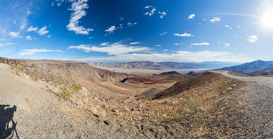 Panorama. Father Crowley Overlook. Death Valley National Park, CA/NV