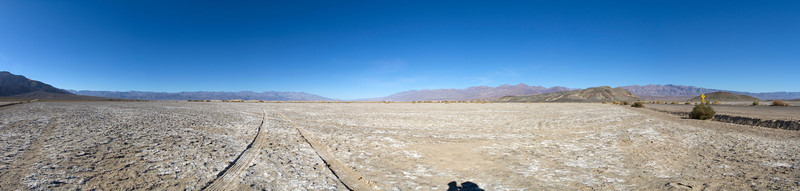 Panorama. Death Valley National Park