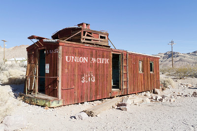 Abandoned Gas Station. Rhyolite Ghost Town - Rhyolite, NV