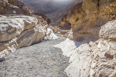 HDR Composition. Mosaic Canyon. Death Valley National Park