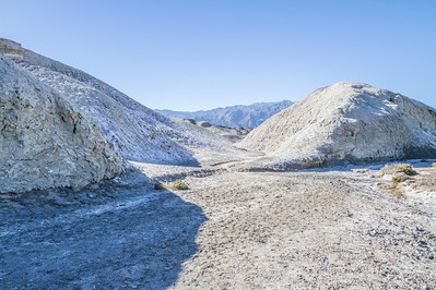 HDR Composition. Salt Creek. Death Valley National Park