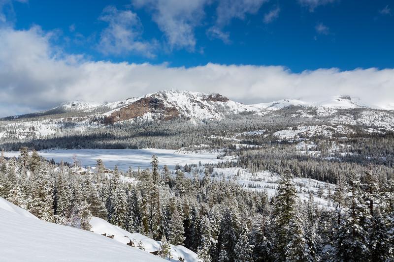 Thunder Mountain, Silver Lake, Treasure Island. Plasse Road. Eldorado National Forest, CA, USA