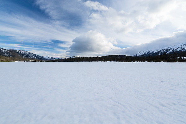 Hope Valley. Near Hope Valley Sno-Park. Humboldt-Toiyabe National Forest, CA, USA