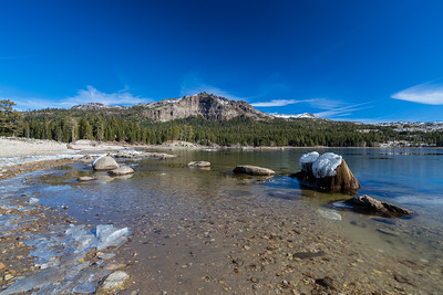 Thunder Mountain & Silver Lake. Eldorado National Forest, CA, USA