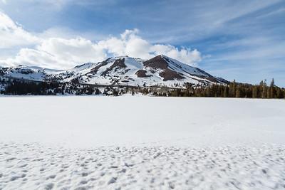 Red Lake Peak & Red Lake. Humboldt-Toiyabe National Forest, CA, USA