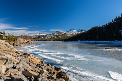 Caples Lake. Eldorado National Forest, CA, USA