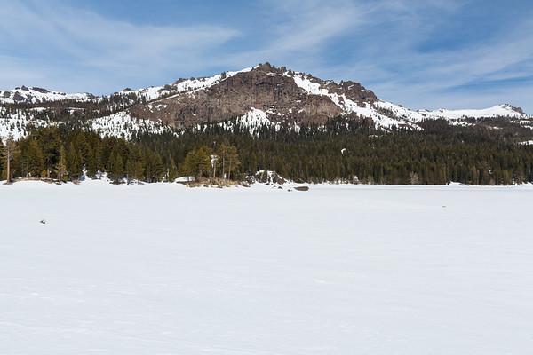 Thunder Mountain & Silver Lake. Eldorado National Forest, CA, USA